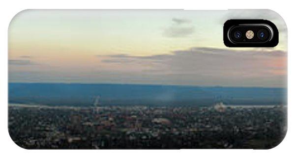 Winona Sunrise Panorama IPhone Case