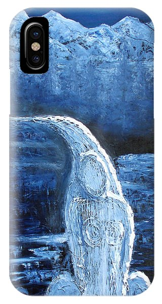 Winter Goddess IPhone Case