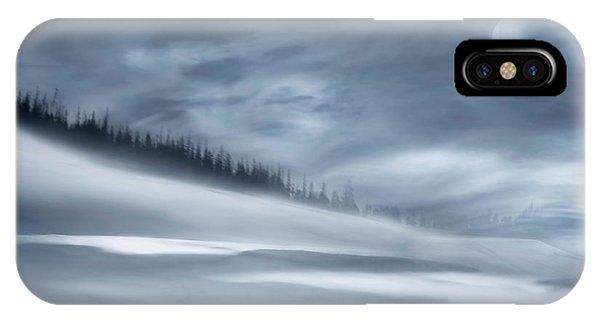 Winter iPhone Case - Winter Night by Heidi Westum