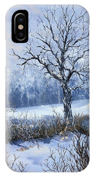 Winter Slumber IPhone Case