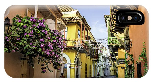 Colombia iPhone Case - Wonderful Spanish Colonial Architecture by Jerry Ginsberg