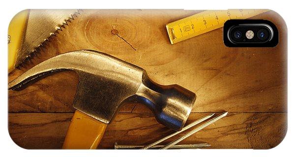 Work Tools IPhone Case