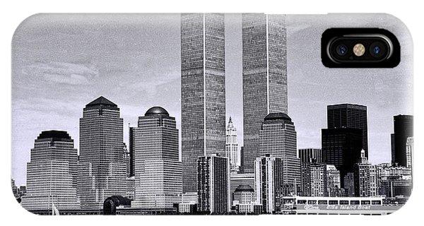 World Trade Center 3 IPhone Case