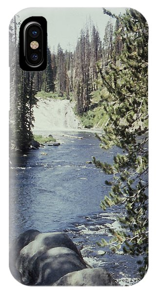 Wyoming Stream Phone Case by Adeline Byford