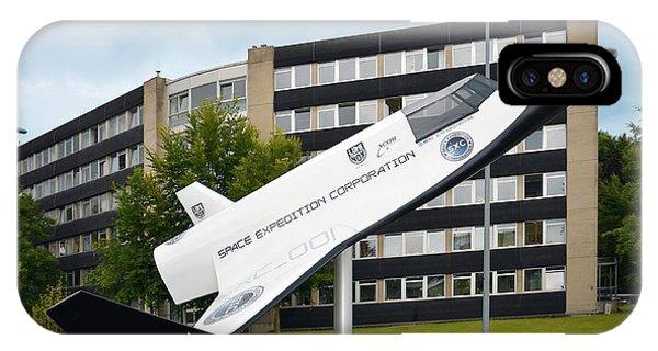 Spaceflight iPhone Case - Xcor Lynx Commercial Rocketplane by Detlev Van Ravenswaay
