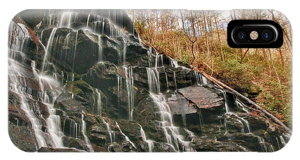Yellow Branch Falls IPhone Case