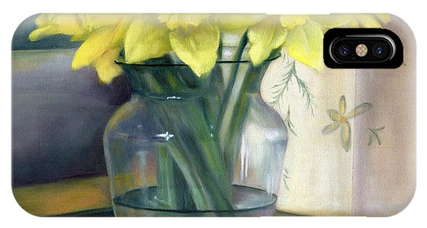 Yellow Daffodils IPhone Case