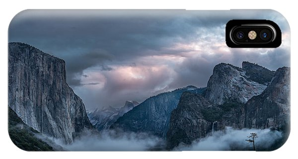 Bridal iPhone Case - Yosemite In Clouds by Bill Roberts