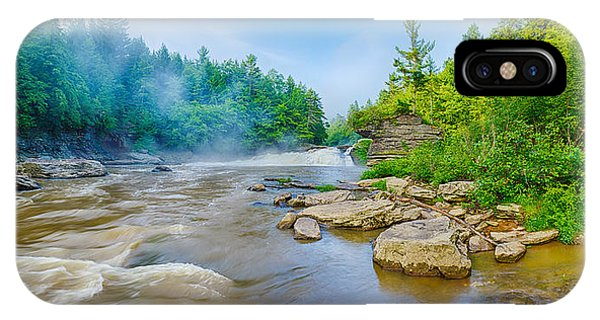 Swallow iPhone Case - Youghiogheny River A Wild And Scenic by Panoramic Images
