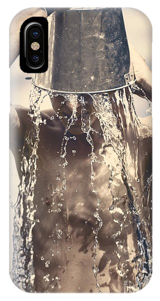 Well Being iPhone Case - Young Man Having Fun On A Tropical Summer Holiday by Jorgo Photography - Wall Art Gallery