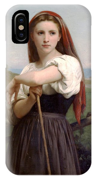Young Shepherdess IPhone Case