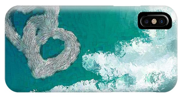 Your Body Teal Phone Case by Holley Jacobs