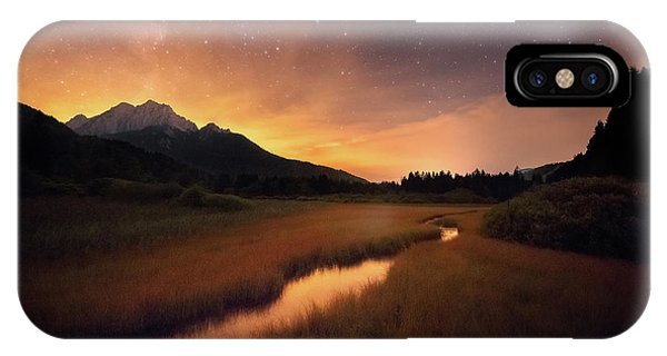 Spring Mountains iPhone Case - Zelenci Springs by Ales Krivec