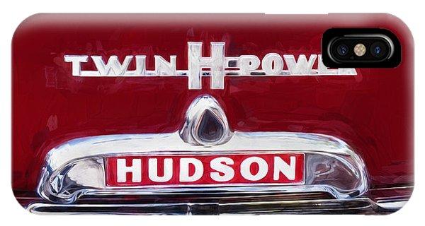 1952 Hudson Hornet 4 Door Sedan Twin H Power Painted  IPhone Case