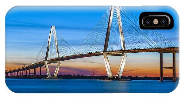 Charleston Arthur Ravenel Bridge IPhone Case
