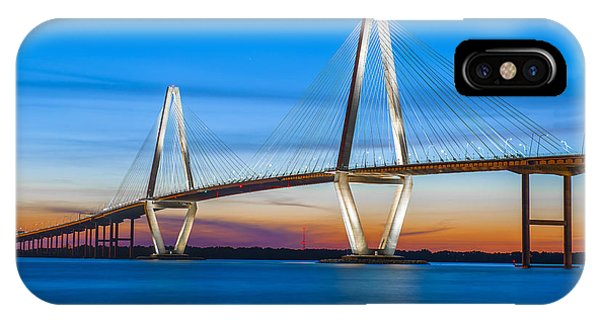 Charleston Arthur Ravenel Bridge IPhone Case