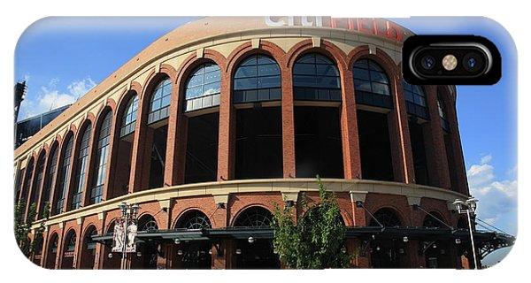 Citi Field - New York Mets 3 IPhone Case