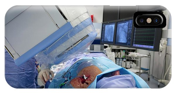 Implantable Defibrillator Surgery Phone Case by Dr P. Marazzi/science Photo Library