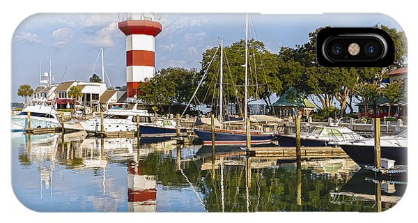 Lighthouse On Hilton Head Island IPhone Case