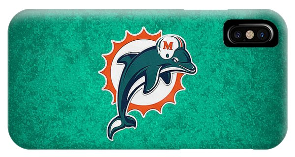 Dolphin iPhone Case - Miami Dolphins by Joe Hamilton