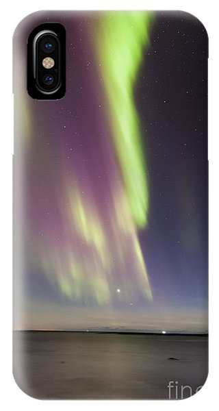 Northern Lights Iceland IPhone Case