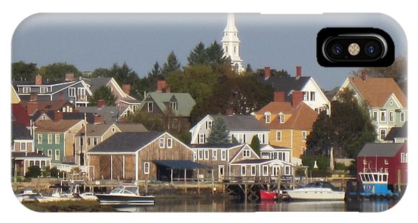 New Castle Harbor Nh IPhone Case