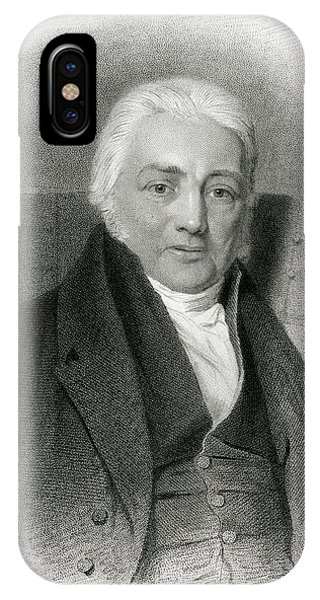 Samuel Taylor Coleridge  English Poet Phone Case by Mary Evans Picture Library