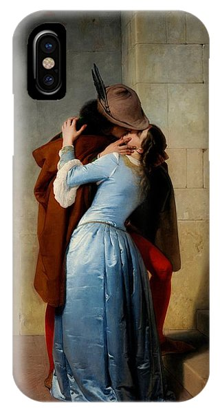 Valentines Day iPhone Case - The Kiss by Francesco Hayez