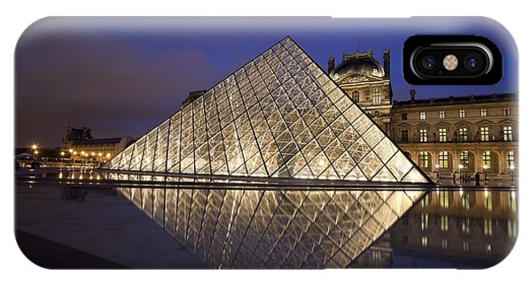 The Louvre Paris IPhone Case