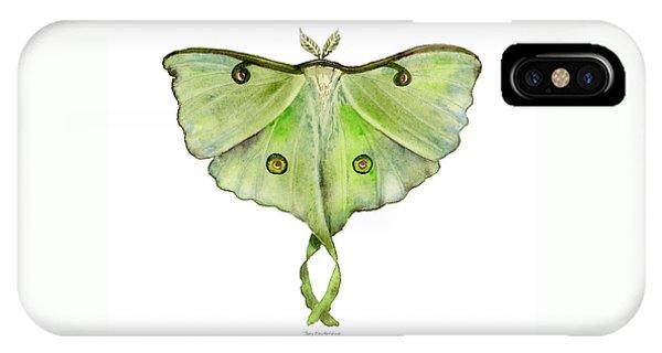 100 Luna Moth IPhone Case