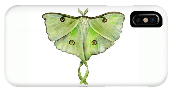 100 Luna Moth IPhone Case