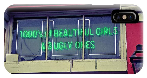 1000's Of Beautiful Girls Sign  IPhone Case