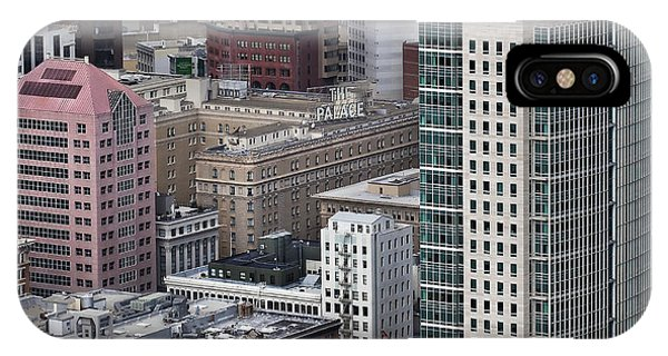 101 2nd Street Tower And The Palace Hotel In San Francisco Phone Case by Adrian Mendoza