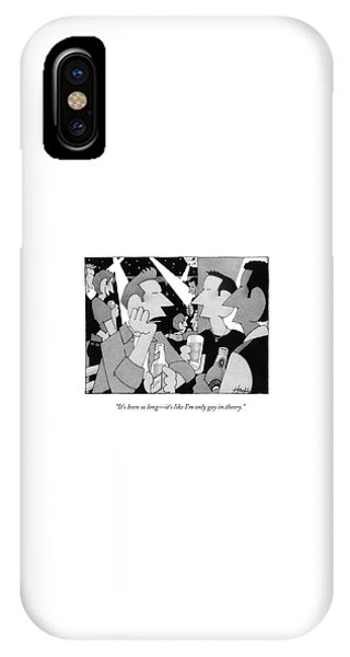 It's Been So Long - It's Like I'm Only Gay IPhone Case