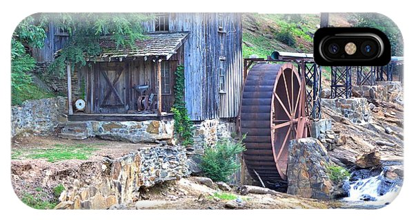 Sixes Mill On Dukes Creek - Square IPhone Case