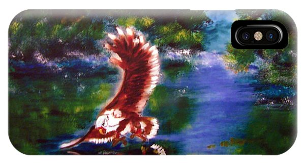 1044426 Digital Eagle IPhone Case