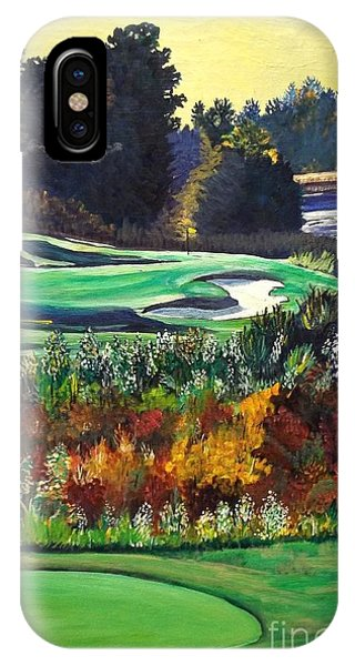11 At Legacy Links Phone Case by Frank Giordano