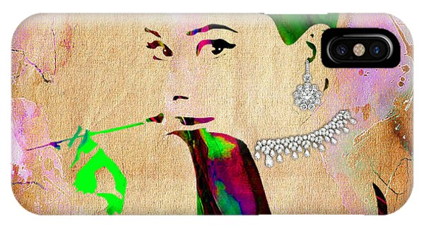 Audrey Hepburn Diamond Collection IPhone Case