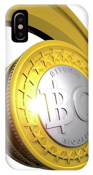 Bitcoins IPhone Case