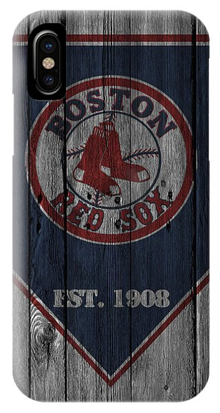 Diamond iPhone Case - Boston Red Sox by Joe Hamilton
