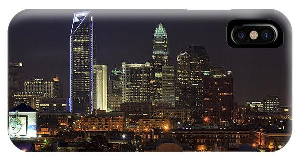 Charlotte Skyline IPhone Case
