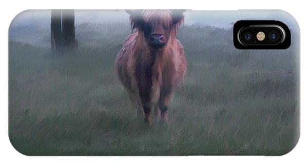 11. Highland IPhone Case