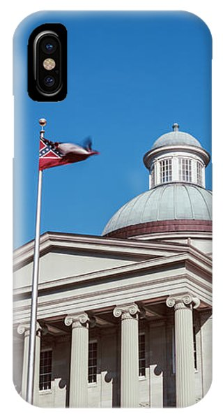 Capitol Building iPhone Case - Low Angle View Of A Government by Panoramic Images