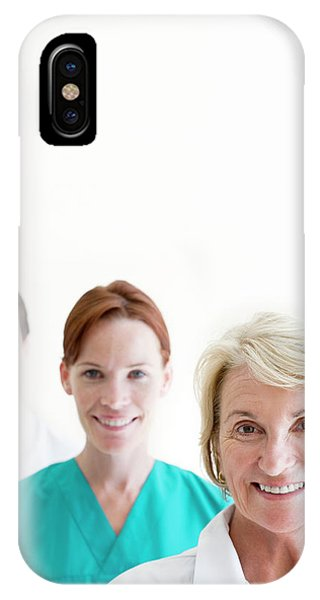 Medical Staff Phone Case by Ian Hooton/science Photo Library