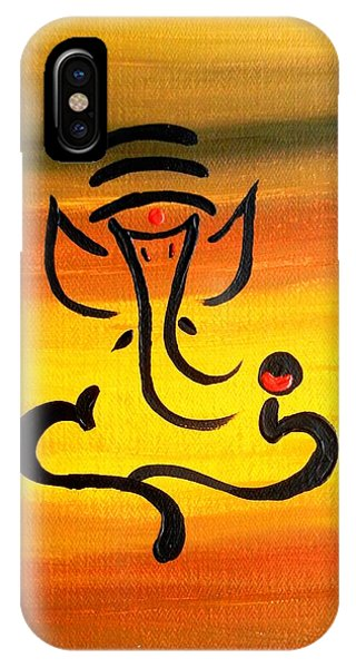 11 Nandana- Son Of Lord Shiva IPhone Case