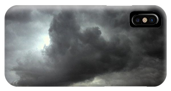 iPhone Case - Severe Warned Nebraska Storm Cells by NebraskaSC