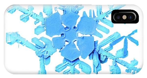 Snowflake Phone Case by Ars/us Dept Of Agriculture
