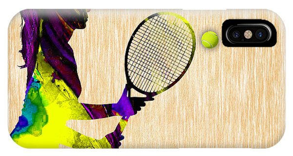 Tennis iPhone Case - Tennis by Marvin Blaine