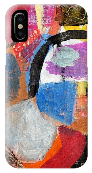 IPhone Case featuring the painting Untitled by Diane Desrochers