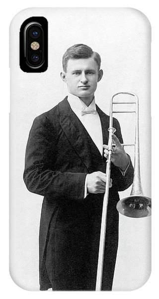 Head And Shoulders iPhone Case - William Meggers by Emilio Segre Visual Archives/american Institute Of Physics